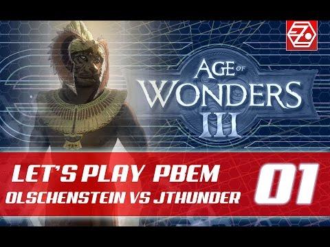 Let´s Play: Age Of Wonders 3 - Halbling | PBEM 1vs1 (01) [deutsch]