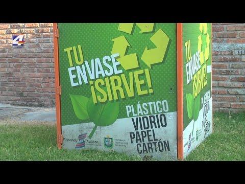 Comenzó plan piloto de contenedores para residuos reciclables