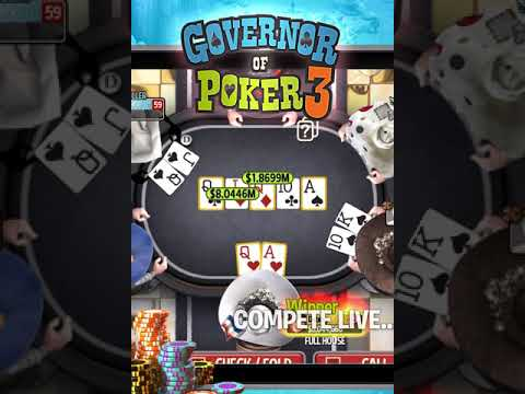 Governor of Poker 3 - Online multiplayer Texas Hold'em Poker game Portrait