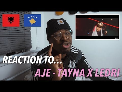 Reaction | Aje - Tayna X Ledri (official Music Video) | Babatunde