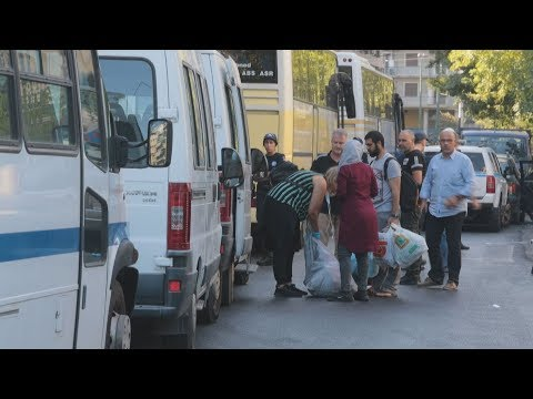 """Video - Τα """"ευρήματα"""" της ΕΛΑΣ κατά την εκκένωση των δύο καταλήψεων"""