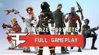 FULL FaZe Fortnite Pro Scrims Gameplay