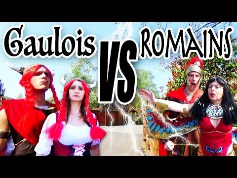 GAULOIS vs ROMAINS : le combat d'ANGIE MAMAN 2.0 contre DÉMO JOUETS au PAR… видео