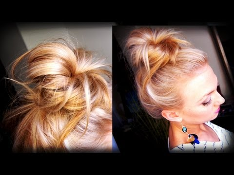 bun - My Everyday Makeup Look | http://tinyurl.com/cvdbwzh My Makeup: -Benefit Hello Flawless Cover Up in