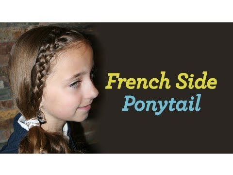 Teen French Pony   Cute Girls Hairstyles