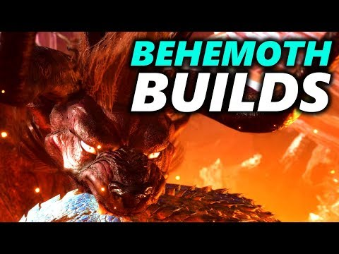 BEHEMOTH BUILDS ? - TANK & DAMAGE - Monster Hunter World