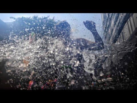 Thailand feiert feucht-fröhliches Neujahrsfest »Songk ...