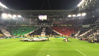 Video Juventus-Monaco Champion's League song at Juventus Stadium MP3, 3GP, MP4, WEBM, AVI, FLV Mei 2017