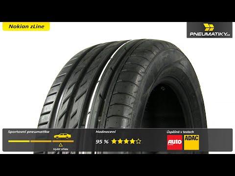 Youtube Nokian zLine 205/50 ZR17 93 Y XL Letní