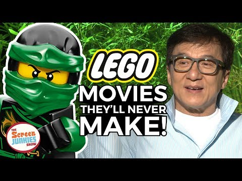 Lego Movies They'll NEVER Make w/ Jackie Chan & Ninjago Cast