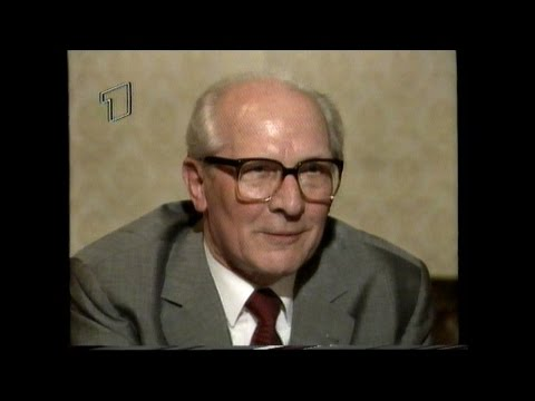 Honecker, Erich - 1991: Erich Honecker - ARD-Interview  ...