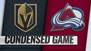 02/18/19 Condensed Game: Golden Knights @ Avalanche by NHL