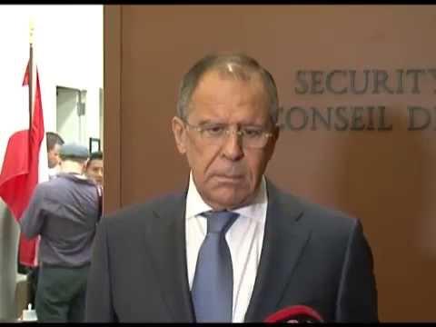 Ответ С.Лаврова по поводу выступления Президента США на сессии ГА ООН, (видео)