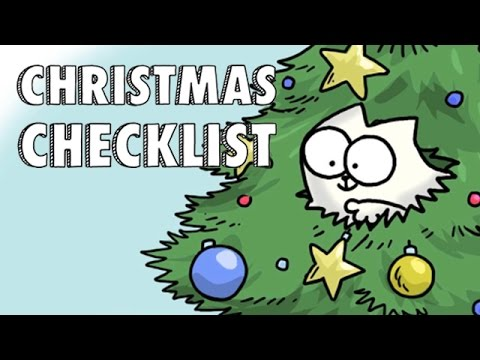 Simon s Cat s Christmas Checklist