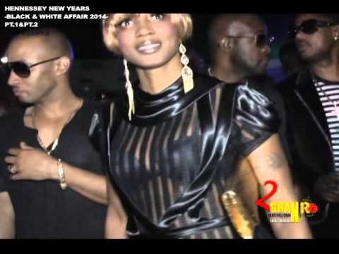 HENNESSEY NEW YEARS -BLACK & WHITE AFFAIR- 2014 PT.1&PT.2 - STONELOVE, JAGGA B