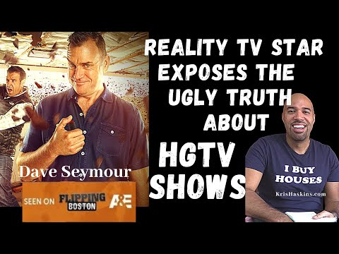 Reality TV star of Flipping Boston exposes truth about HGTV shows-how to invest in real estate-
