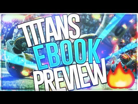 Madden 19: Unstoppable Offensive Money Scheme! Tennessee Titans Offensive EBook Preview!