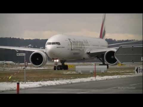 B777 - The afternoon flight by Emirates operated with a B777-300ER en route to Dubai. If you have any request on what airline or aircraft you would like to have spo...