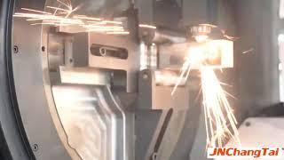 Fiber Laser Pipe Cutting Machine youtube video