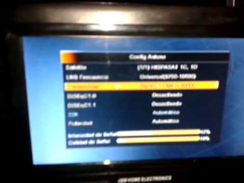 Guia para la Busqueda del satelite Hispasat e Intelsat desde Venezuela