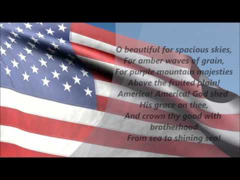 America The Beautiful (Lyrics)