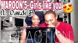 Video Maroon 5 - Girls Like You ft. Cardi B | Music Video Reaction MP3, 3GP, MP4, WEBM, AVI, FLV Agustus 2018
