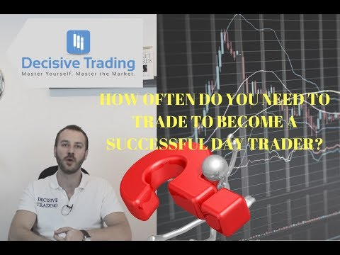 How Often do you Need to Trade to Become a Successful Day Trader?