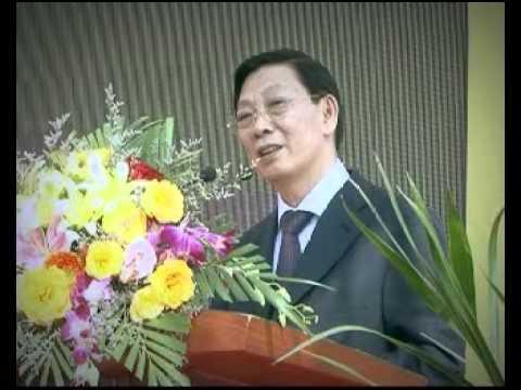Ông Nguyễn Thế Thảo - Chủ tịch UBND Thành Phố Hà Nội phát biểu tại lễ khởi công Hanssip - 17/12/2013