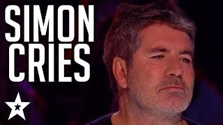 When SIMON COWELL Cries On Britain and America's Got Talent!   Got Talent