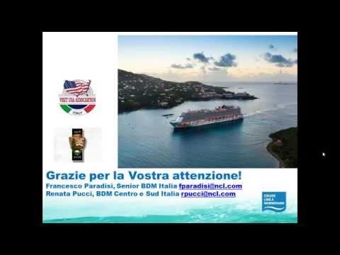 Video NORWEGIAN CRUISE LINE: I servizi di bordo: mix vincente food & intrattenimento