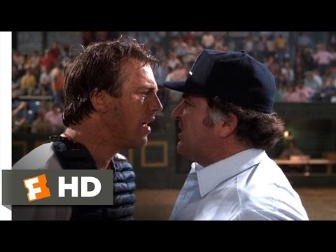 Bull Durham (1988) - The No-No Word Scene (11/12) | Movieclips