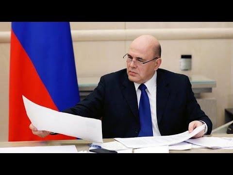 Russland: Regierungschef Mischustin mit Coronavirus infiziert