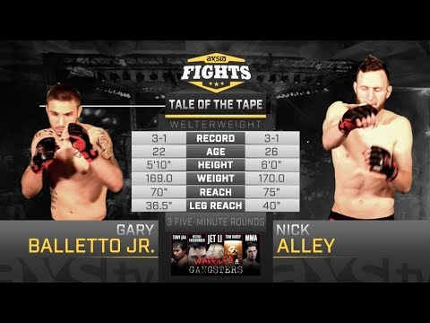 Fight Of The Week: Gary Balletto Jr & Nick Alley Match Up In A Brutal Battle At CES 45