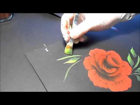 Blätter malen und Bild fertig stellen