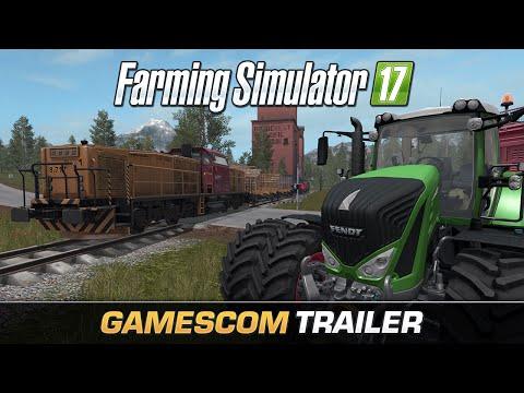 Transport kolejowy i hodowla świń to jedne z nowości, jakie czekają na graczy-rolników w grze Farming Simulator 17