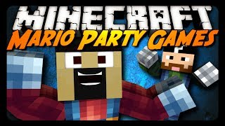 Minecraft: MARIO PARTY GAMES! (Party Time Mini-Game)