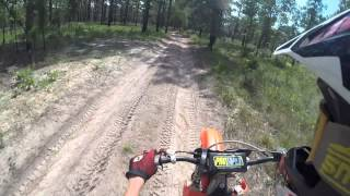 2. Top Speed On a 2001 Honda Cr250R GoPro Hero3 Black