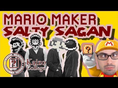 Mario Maker - Salty Sagan's SpeSHELL Sauce & Other \