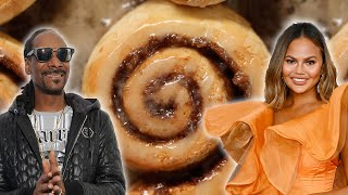 Which Celebrity Makes The Best Cinnamon Roll  • Tasty by Tasty