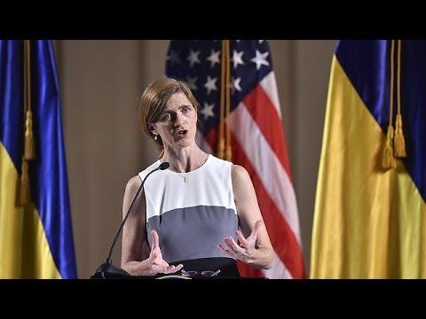Στο Κίεβο η πρεσβευτής των ΗΠΑ στον ΟΗΕ