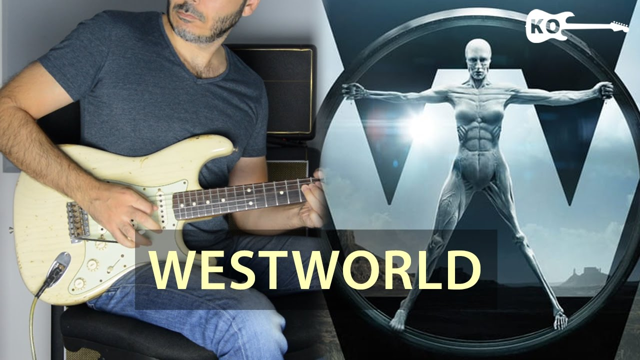 Westworld HBO Theme – Electric Guitar Cover by Kfir Ochaion