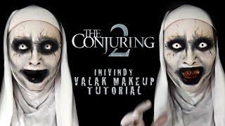Video Valak Makeup Tutorial - Conjuring 2   Inivindy MP3, 3GP, MP4, WEBM, AVI, FLV Februari 2018