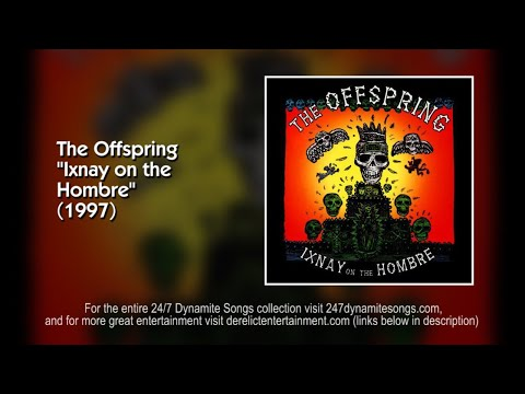 The Offspring - Disclaimer [Track 1 from Ixnay on the Hombre] (1997) (видео)