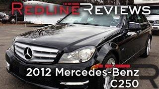 2012 Mercedes-Benz C250 Review, Walkaround, Exhaust,&Test Drive
