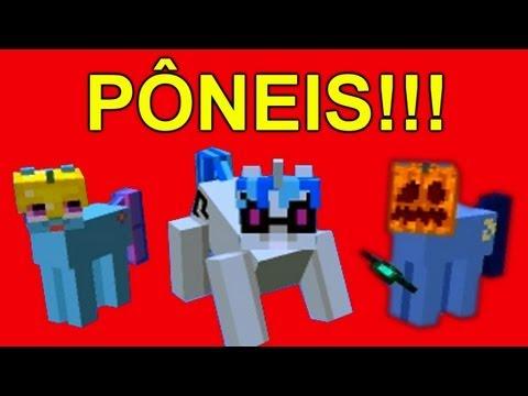Minecraft - PONEIS MALDITOS!!! com VenomExtreme