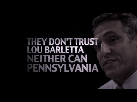 Can't Trust Lou Barletta