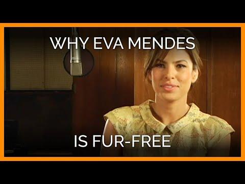 Eva Mendes Tells PETA Why She Is Fur-Free