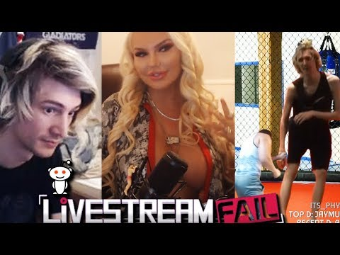 """XQc Reacts to Funny Clips From """"Reddit: LiveStreamFail"""" and Reddit Recap with Chat 