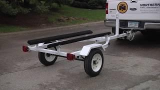 9. Ironton Personal Watercraft and Boat Trailer Kit - 610-Lb. Load Capacity