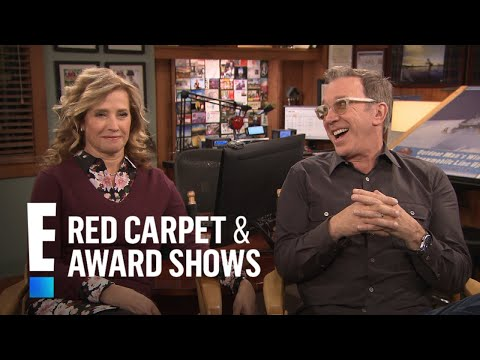 Tim Allen & Nancy Travis Reveal Why They Won't Mention Trump | E! Red Carpet & Award Shows